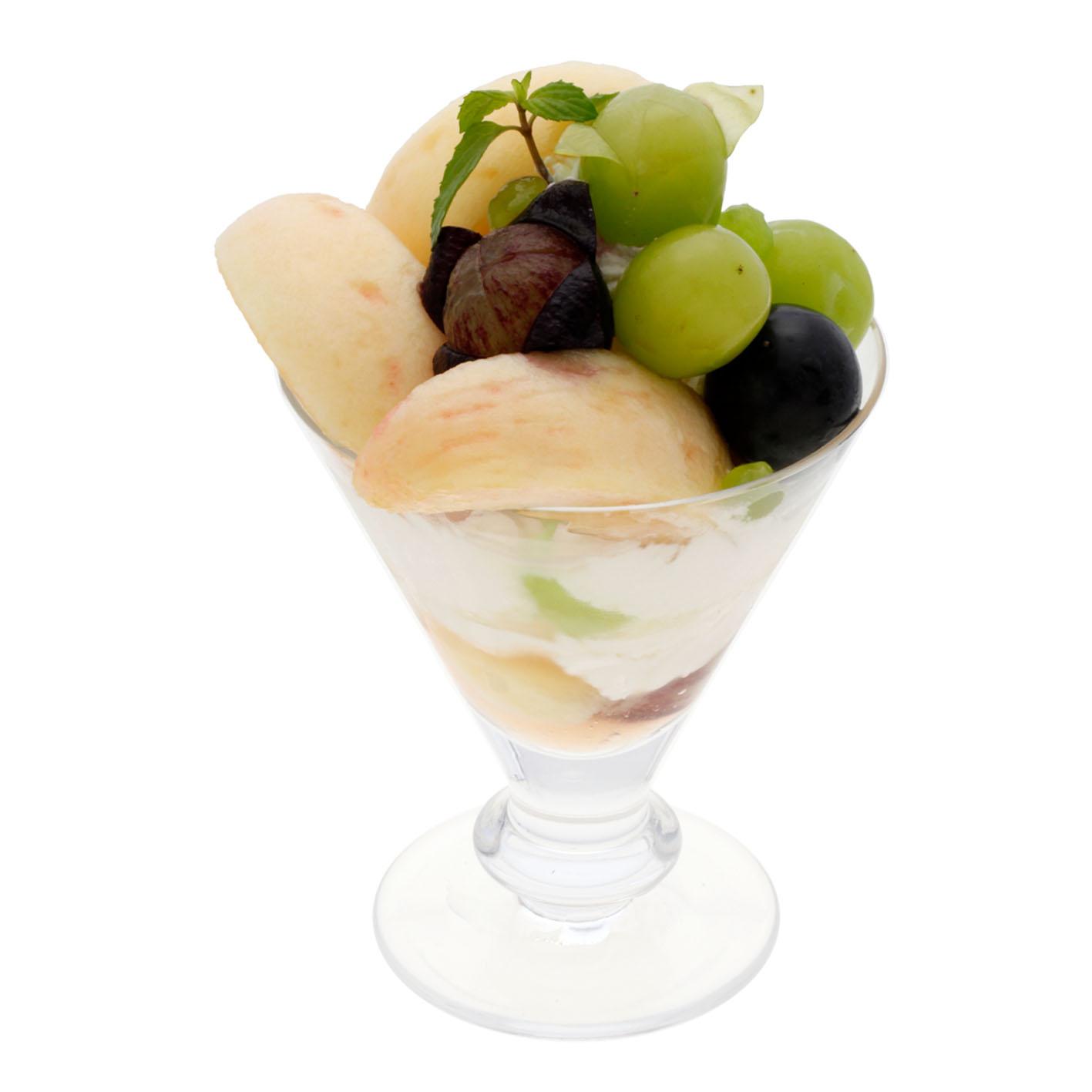 桃&葡萄パフェ